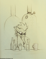 Beer Science by FoxInShadow