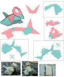 Porygon paper craft patern by Plume-Rouge