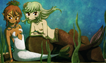 The Differences Between Syranium and Mermaids by Icy-Snowflakes