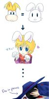 Rayman is a Bunny?? by noirjung