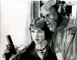 HELLBOY by LIVE00