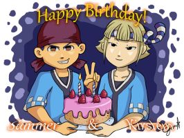 Inazuma Eleven: Present For The Twins! by Card-Queen
