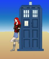 Amy Pond Doctor Who by LadyKailitha