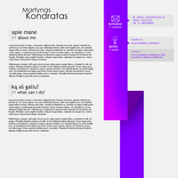 Personal Website design by ultimatium1