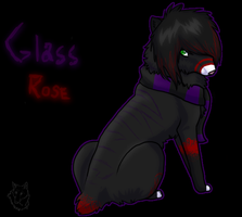Glass Rose- Meh New Fursona by pipamir