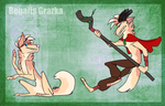 Regalis Grazka -- Ref Sheet by the3Ss