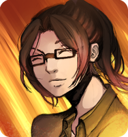 (OLD ART) More Hanji by LadyButtcheeks