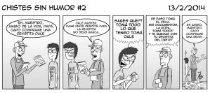 Chistes Sin Humor #2 by losrosticost