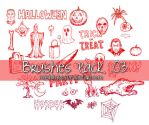 Brushes Pack .03 - Halloween by MyShinyBoy
