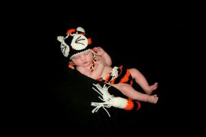 Baby Tiger Outfit (with baby) by weblore