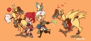 FFXIV: Off to another adventure!! by crys-art