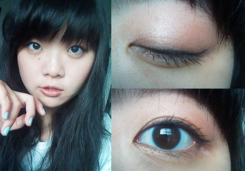Makeup Look #1 by Melody-in-the-Air