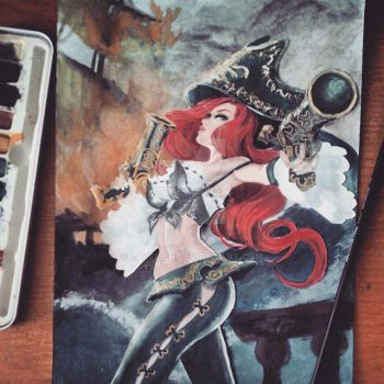 Miss Fortune by Larellin
