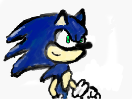 Sonic made on Nintendo DS by Yabbus23