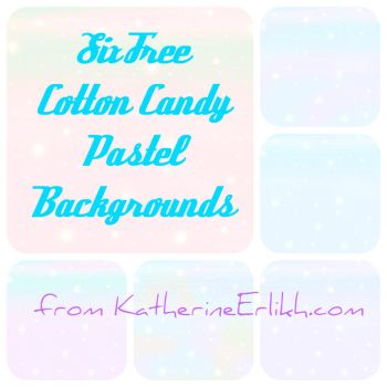 Cotton Candy Colored Texture Pack by amuratake