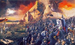 Occupation Of Constantinople By Mehmed II 1453 by eduartinehistorise