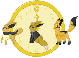 Time - Chrissie the Eevee by Psunna