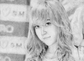 SNSD Jessica Drawing by Dragoslayer4