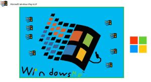 Windows Me by yonicdeviant