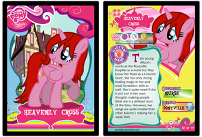 Heavenly's Cross Trading Card by davidsfire