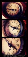 Watch the clock on the wall by Nachan