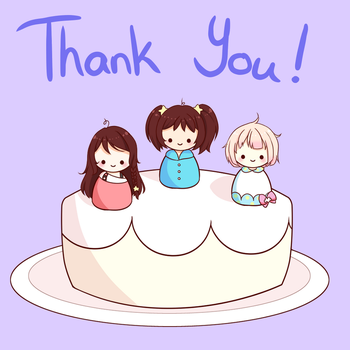 Thank You! by Azaalya