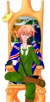 England Takes the Throne by madcat2316