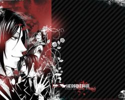 Sebastian Wallpaper II by overemphasize