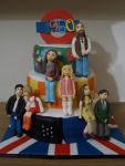 1960s Fashion Cake by sparks1992