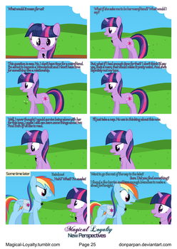 Magical Loyalty - New Perspectives Page 25 by WaveyWaves