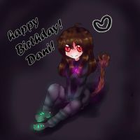 Happy birthday Dani! by MitsukoBunny-chan