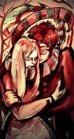 Lily and James by RedGraf