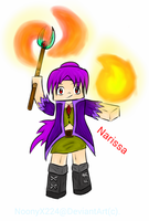 Narissa - The Pyromancer Witch. by NoonyX224