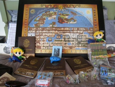 Prizes for the Calendar Contest by History-of-Hyrule