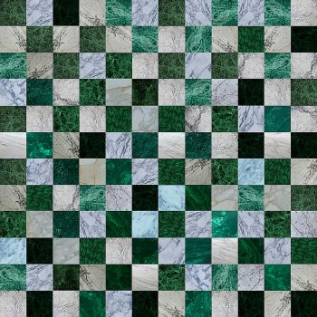 Green-marble-checker by sublithium