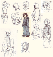 Naruto: September doodles by hugfiend