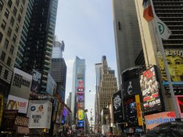 Times Square by e1ectricthunder