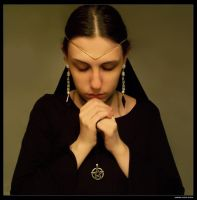 Sabrine 205 - Praying by sabrine-photo-stock