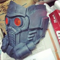 Star lord mask wip by twitte0king
