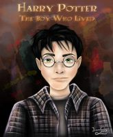 Eleven Year-Old Harry Potter by emmanuel7