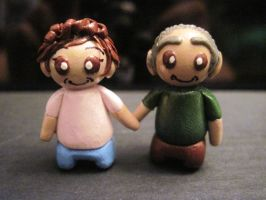 Grandma and Papou Couple Charms by Blazesnbreezes