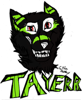 :GiftArt:Tayerr Badge by hurleygirl2798