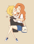 .:Jace X Clary:. by Marcy-Rc