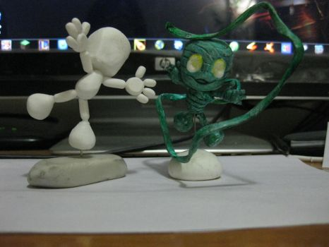 Amumu with Prototype by LadyDarque