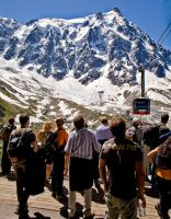 Aiguille du Midi - Travel Imag by themobius