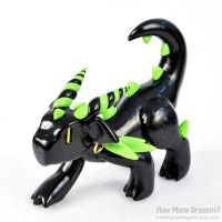 Toxic Stalker Dragon by HowManyDragons