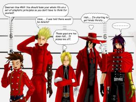 Red Coat Lineup by Genesis-Project