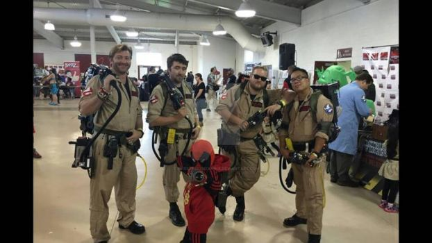 GHOST BUSTERS PHOTOBOMB by PriestessXhexania