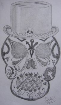 VooDoo Skull by NocturnalHouse