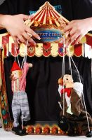 Puppet Stage with fingers by MLeighS